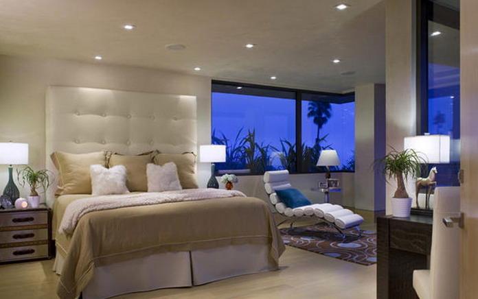 đèn led âm trần phòng ngủ