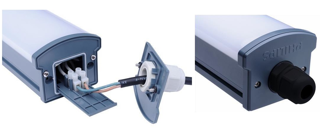 Máng đèn tuýp chống thấm WT066C 49W Philips