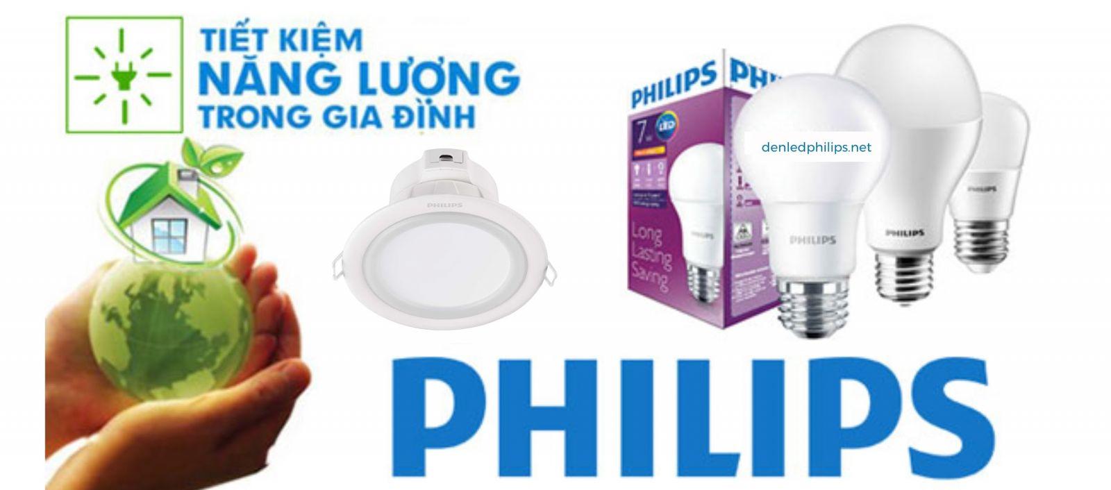 Đèn LED Philips tiết kiệm 50% điện năng so với đèn compact