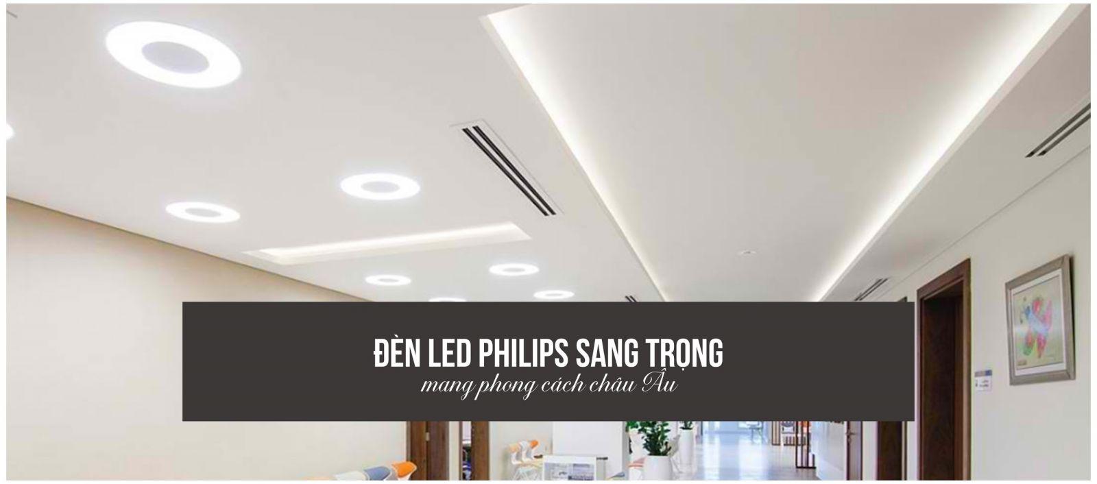 Đèn LED Philips mang phong cách châu Âu vào ngôi nhà bạn