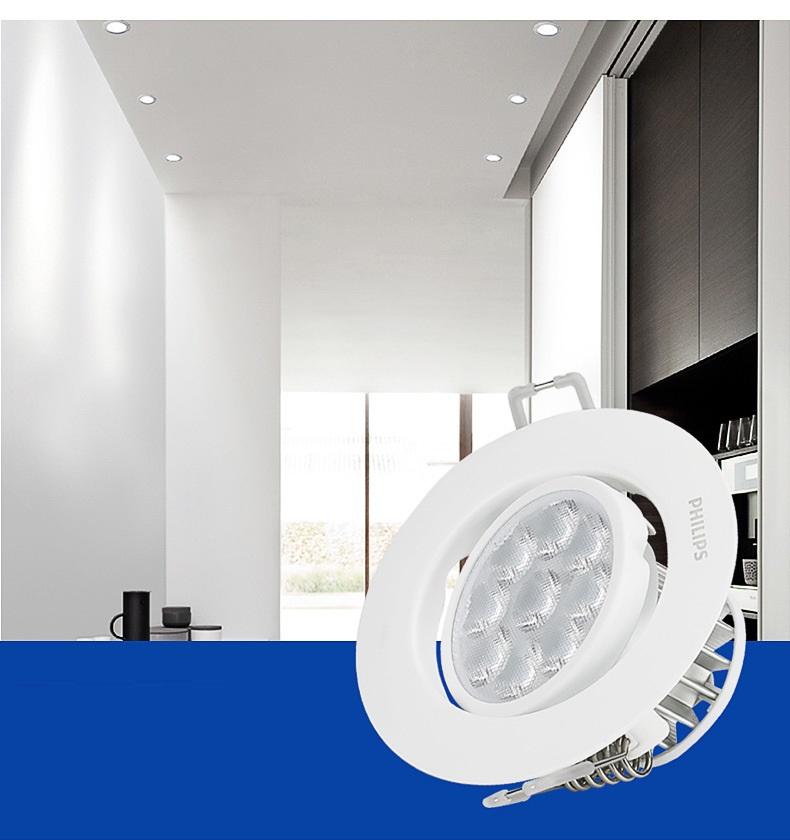đèn led âm trần chiếu điểm chất lượng