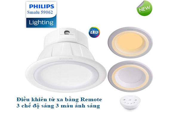 đèn led âm trần tích hợp thêm nhiều tính năm mới