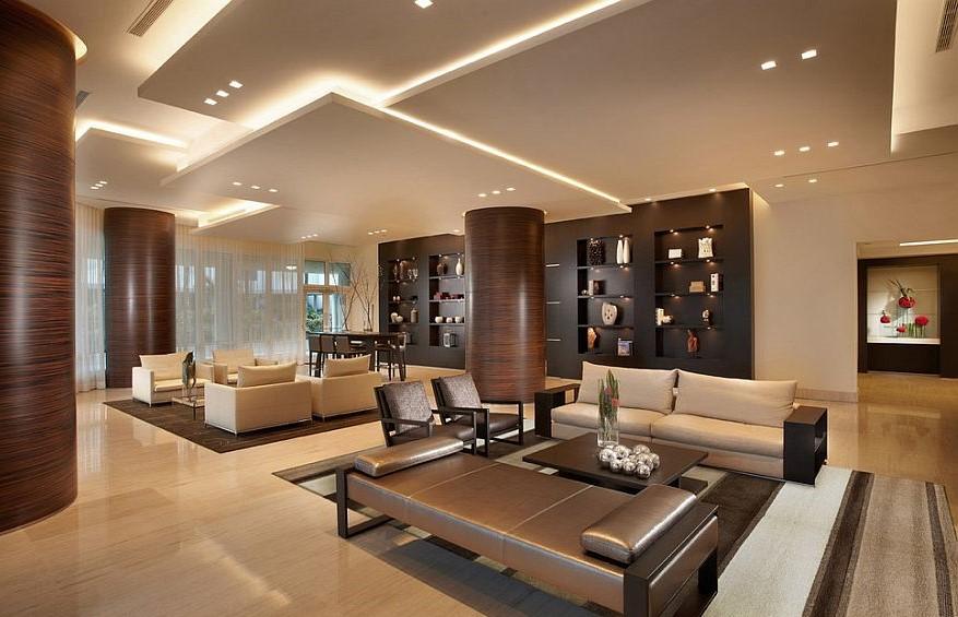 Điều cần biết về các loại đèn dùng trong trang trí phòng khách.