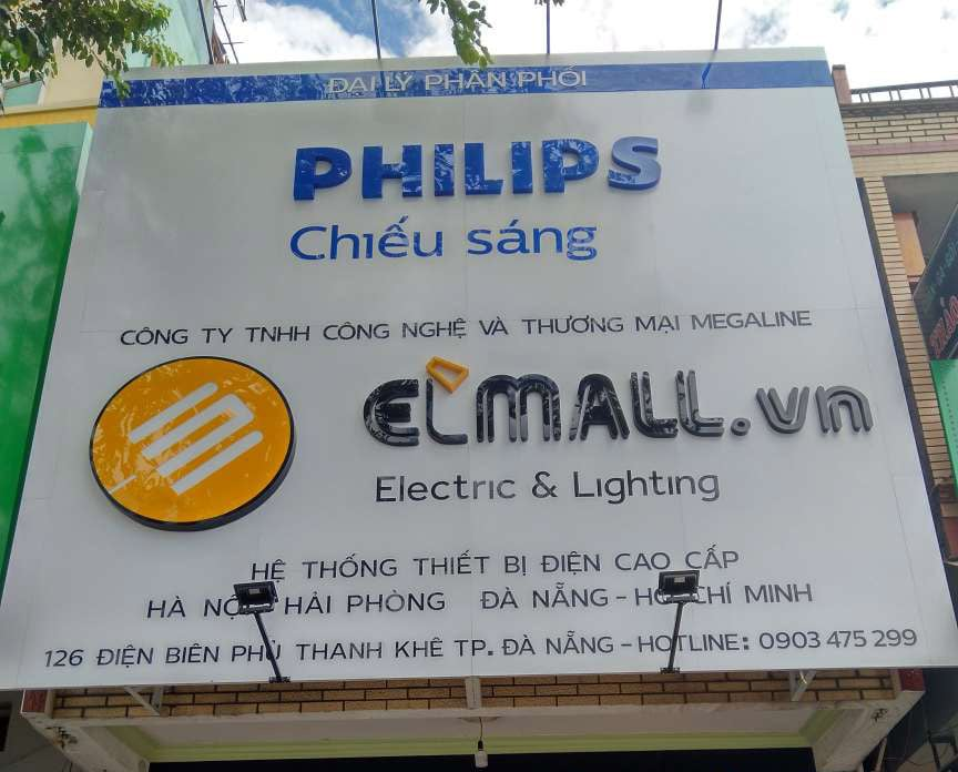 Showroom đèn led Philips tại Đà Nẵng mang lại giải pháp tối ưu cho chiếu sáng