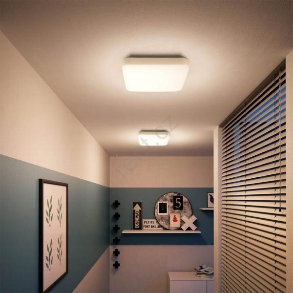 Đèn led ốp trần vuông có tính thẩm mỹ cao