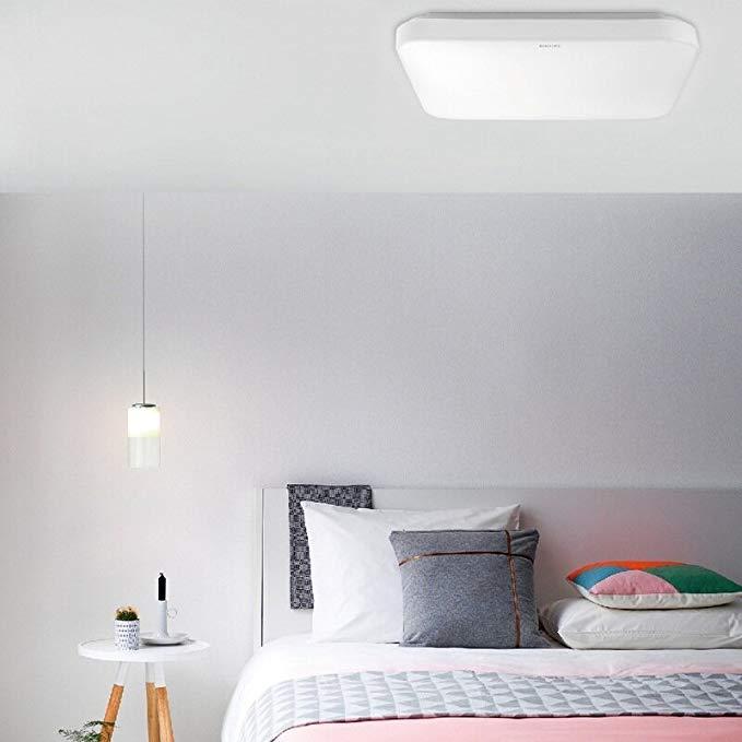 Sản phẩm đèn led ốp trần vuông 17W 31110 SQ White Philips