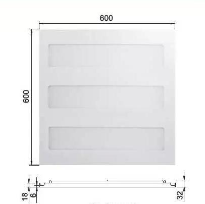 Đèn led panel RC098V 26W 600x600