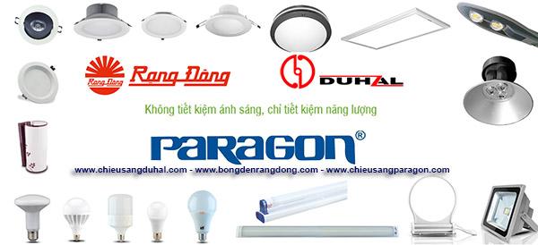 Phân phối đèn led ở Hải Phòng mang thương hiệu Việt