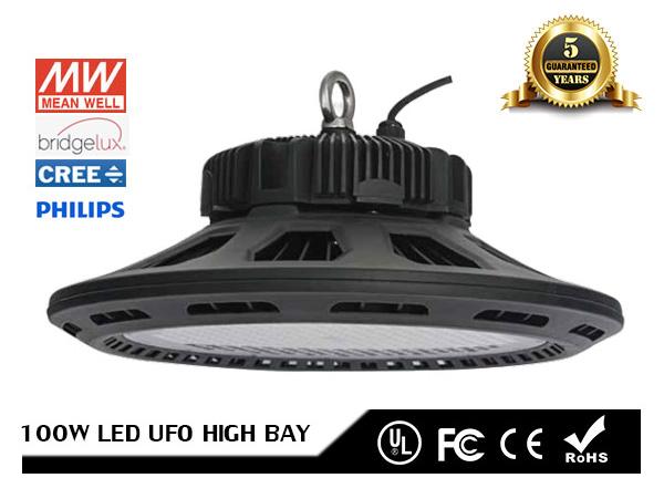 Đèn LED nhà xưởng UFO dùng chip LED và nguồn Philips