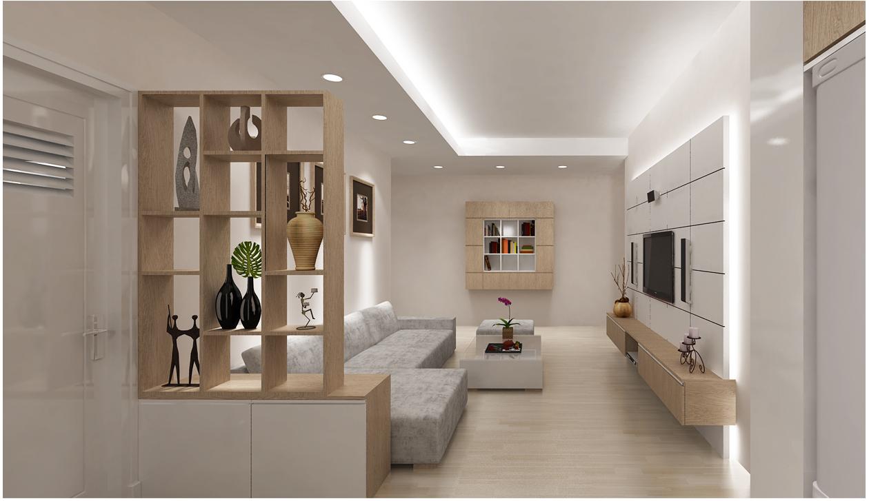 Thiết kế đèn phù hợp cho không gian phòng khách
